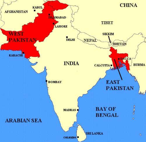 Egyesült Államok hagyományosan Indiát, Kína pedig Pakisztánt támogatja.